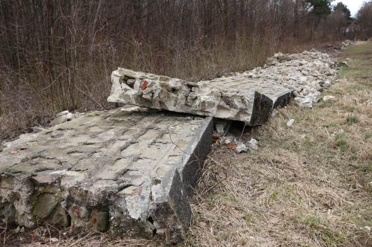 20 Hochspannungsschneise Alte Mauer wird gekillt 1