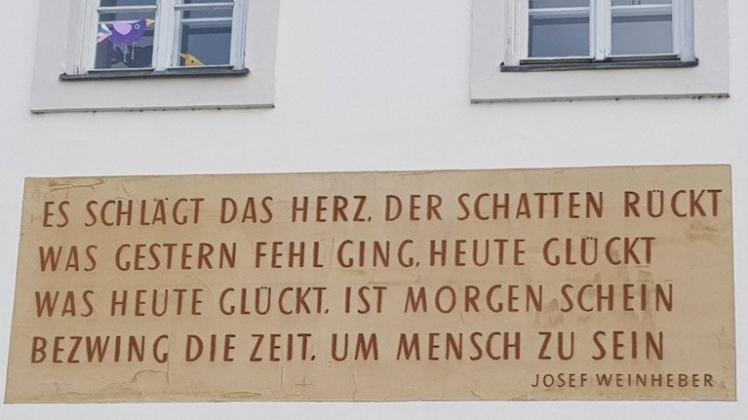 02 Weinheber-Gedicht Gerichtsgebäude