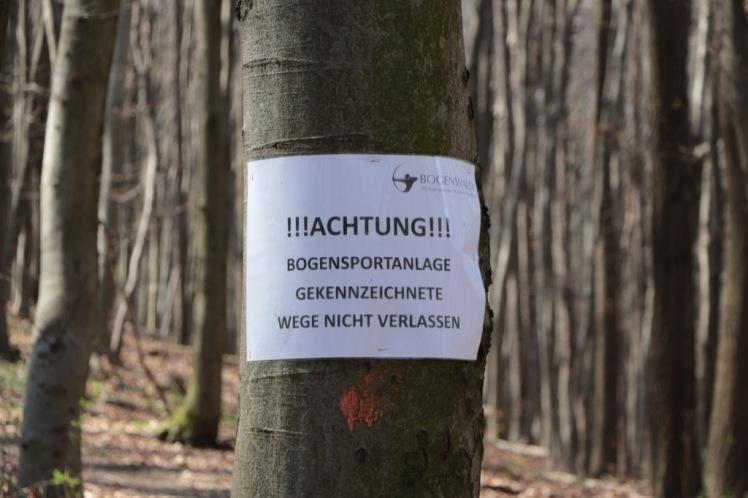 34 Wald Richtung Hintersdorf Bogensport