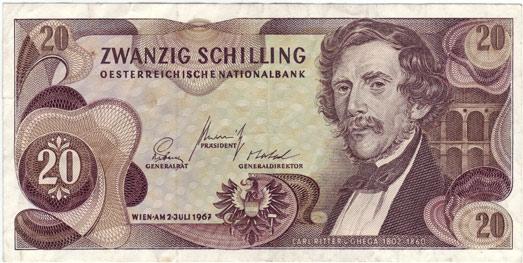 20_Schilling_Carl_von_Ghega_obverse