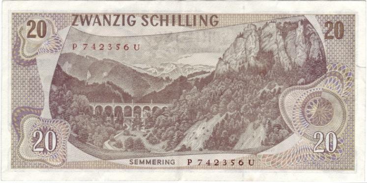 20_Schilling_Carl_von_Ghega_reverse