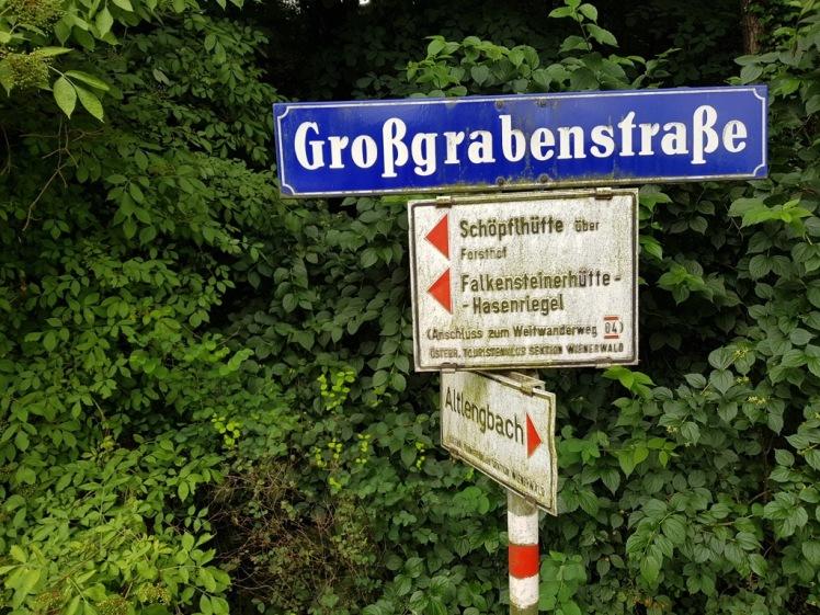 17 Markierung nach Großgrabenhof