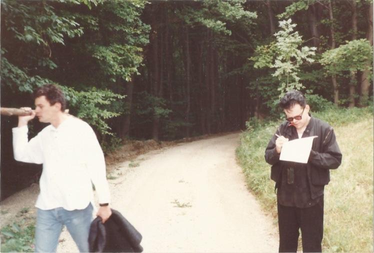 mit Krobath im Wald
