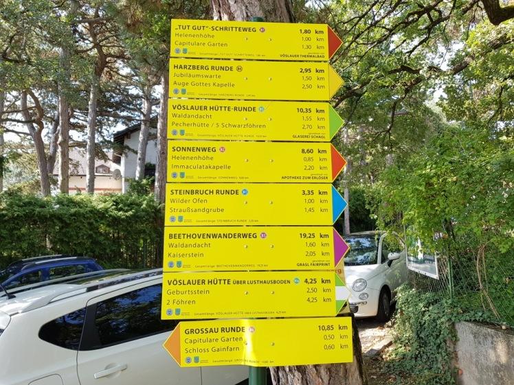 04 neue Wandertafeln von Gemeinde Bad Vöslau