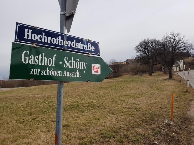 11 Schild Hochrotherdstraße mit h