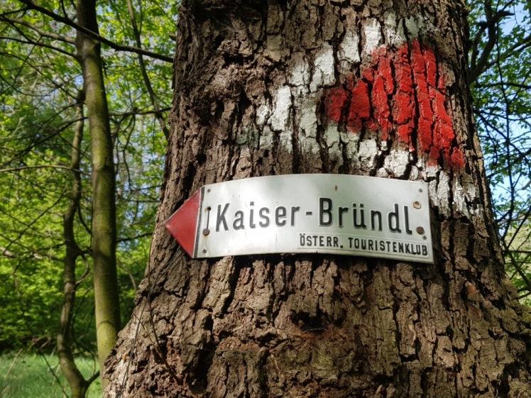 03 Markierung Kaiser-Bründl