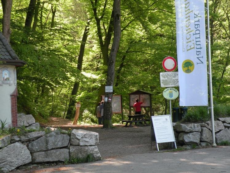 2. Einstieg Hagenbachklamm 2