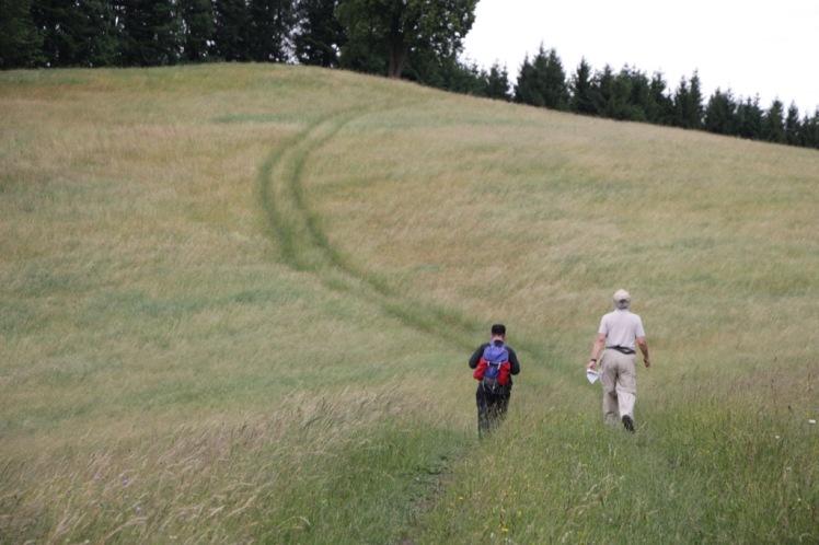 78 die Wanderer auf dem Weg zur Linde 4.JPG