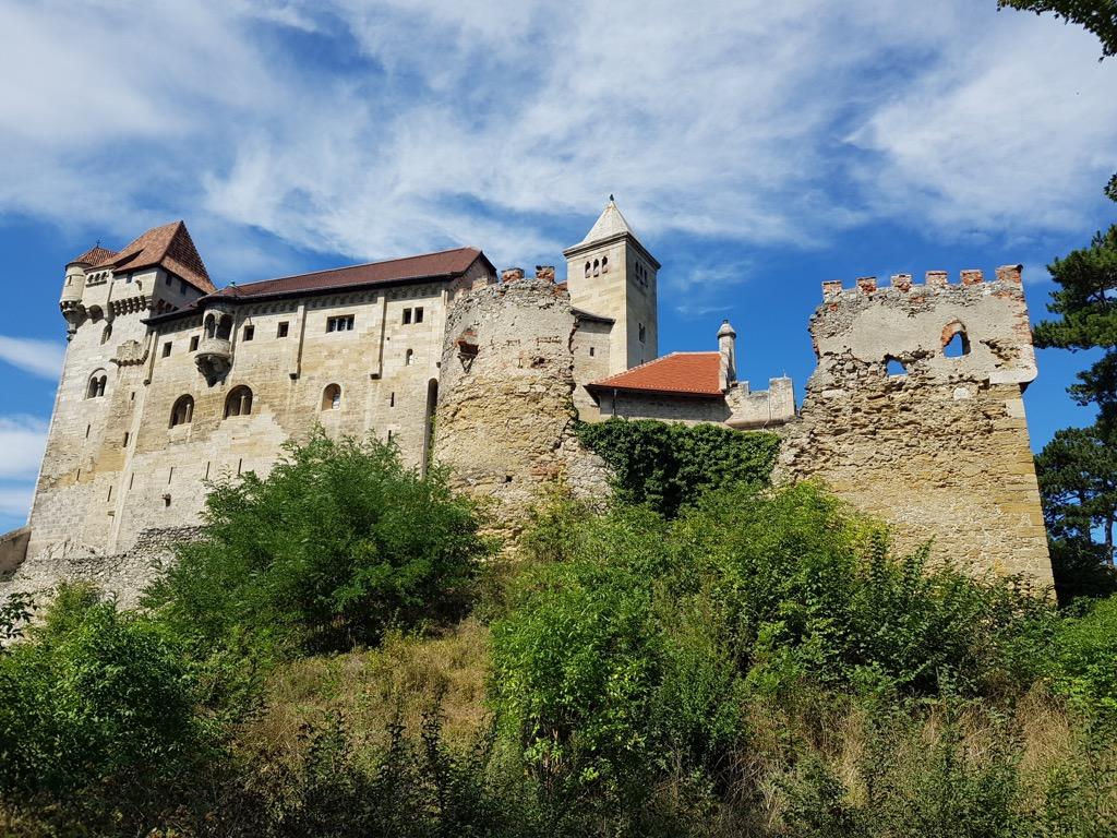 13 Burg Liechtenstein Außenansicht 2