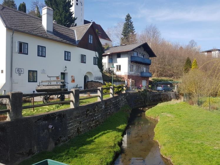 01 Überquerung Gablitzbach bei Gablitz